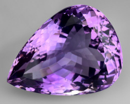 17.37 Ct  Natural Amethyst Top Quality Gemstone. AT 08