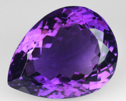 16.30 Ct  Natural Amethyst Top Quality Gemstone. AT 13
