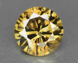 UNTREATED FANCY BROWNISH ORANGE NATURAL LOOSE DIAMOND