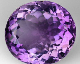 11.80 Ct  Natural Amethyst Top Quality Gemstone. AT 15