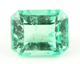 0.53ct Natural Colombian Emerald Certified Loose Gemstone No Reserve Auctio
