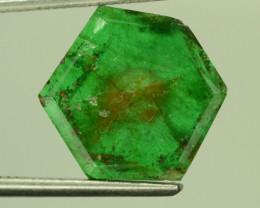 Rare Untreated Trapiche Emerald 1.85 CT