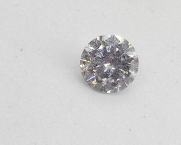 0.55ct White Diamond , 100% Natural Untreated