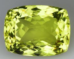 23.30 Ct Natural Lemon Quartz Top Cutting Top Quality Gemstone. LQ 09
