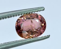 1.30 Crt Natural Tourmaline Faceted Gemstone.( AB 07)