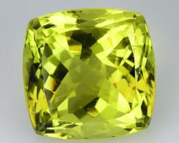 13.56 Ct Natural Lemon Quartz Top Cutting Top Quality Gemstone. LQ 14
