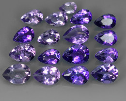 7.60 CTS GENUINE NATURAL ULTRA RARE LUSTER  PURPLE-VIOLET AMETHIYST