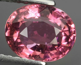 1.60 CTS-ALLURING TOP COLOR PINK TOURMALINE OVAL CUT!!!