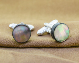 Mother-of-Pearl /Shell cuff links