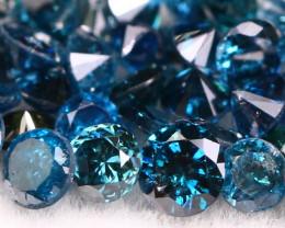 2.20Ct Natural Single Blue Color Diamond Lot  BM241
