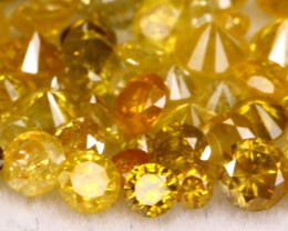 2.40Ct Natural Canary Yellow Color Diamond Lot BM252