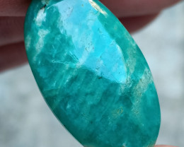 BEAUTIFUL AMAZONITE CABOCHON Natural Gemstone VA2417