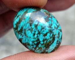 TIBETIAN TURQUOISE GENUINE GEMSTONE NATURAL UNTREATED VA2424