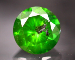 1.02Ct Natural Round Cut Green Color Diamond TR09