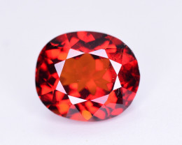 Reddish Orange Color 2.05 Ct Natural Spessartite Garnet.
