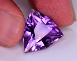 9.80 Ct Beautiful Color Natural Amethyst.HM
