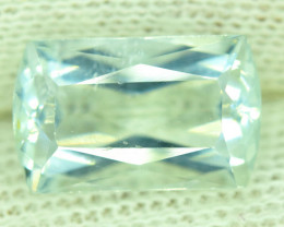NR Auction - 6.65 Carats Natural Untreated Aquamarine Gemstone From Pakista