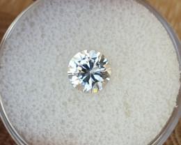 1,50ct White Zircon - Master cut!