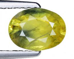 1.22 Ct Yellow Sapphire Top Quality  Gemstone. YS 06