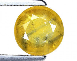 1.23 Ct Yellow Sapphire Top Quality  Gemstone. YS 10