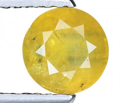 1.10 Ct Yellow Sapphire Top Quality  Gemstone. YS 11