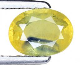 0.96 Ct Yellow Sapphire Top Quality  Gemstone. YS 12