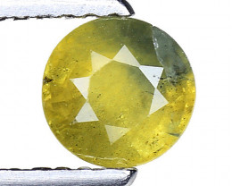 0.76 Ct Yellow Sapphire Top Quality  Gemstone. YS 13