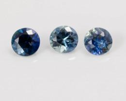 3.30 mm Sapphire 0.52 ct  Sri Lanka GPC Lab