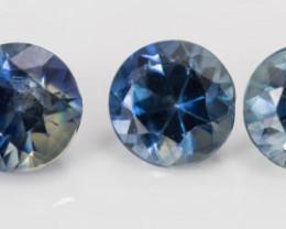 3.40 mm Sapphire 0.97 ct  Sri Lanka GPC Lab
