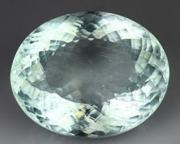 Black Friday. 19.26 Ct Natural Aquamarine Sparkling Luster Gemstone. AQ 07