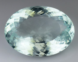 16.13 Ct Natural Aquamarine Sparkling Luster Gemstone. AQ 08