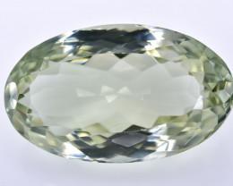 13.48 Crt Prasiolite Green Amethyst Faceted Gemstone (R43)