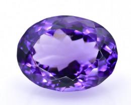 10.33 Crt Amethyst Faceted Gemstone (R43)