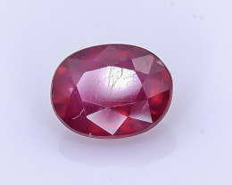 2.43 Crt Composite Ruby Faceted Gemstone (R43)