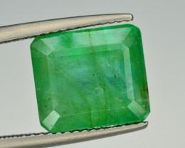 5.40  Ct Natural Zambia Emerald Gemstone