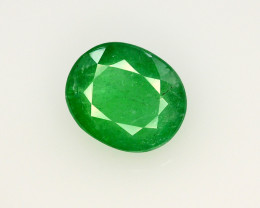 GIL CERT~5.14 Ct Natural Zambia Emerald Gemstone