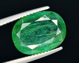 4.65 Ct Natural Zambia Emerald Gemstone