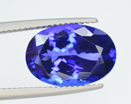 AAA Color  7.60 Ct Dazzling Color Natural Tanzanite