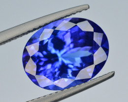 AAA Color 5.10 Ct Dazzling Color Natural Tanzanite