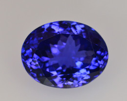 AAA Color 8.30 Ct Dazzling Color Natural Tanzanite