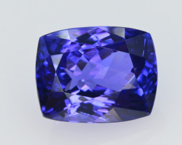 AAA Color 7 Ct Dazzling Color Natural Tanzanite
