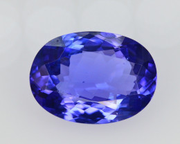AAA Color 5.40 Ct Dazzling Color Natural Tanzanite