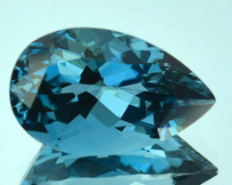 4.38Ct Natural London Blue Topaz Pear