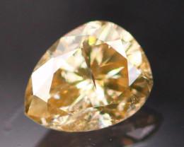 0.18Ct Natural Fancy Champagne Color Diamond E0508