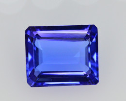 AAA Color 6 Ct Dazzling Color Natural Tanzanite