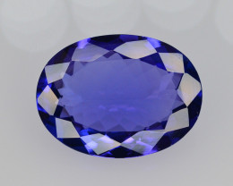 AAA Color 4.65 Ct Dazzling Color Natural Tanzanite