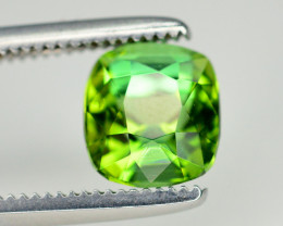 Top Color 1.25 Ct Lagoon Green Tourmaline From Afghanistan. ARA1