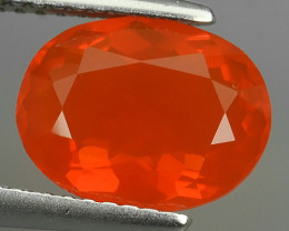 1.60 CTS BEST QUALITY~RED FIRE COLOR EXTREME WONDER LUSTROUS GENUINE FIRE O