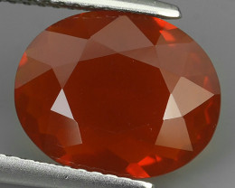 1.90 CTS BEST QUALITY~RED FIRE COLOR EXTREME WONDER LUSTROUS GENUINE FIRE O