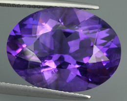 14.95 CTS INCREDIBLE PURPLE AMETHYST URUGUAY VVS